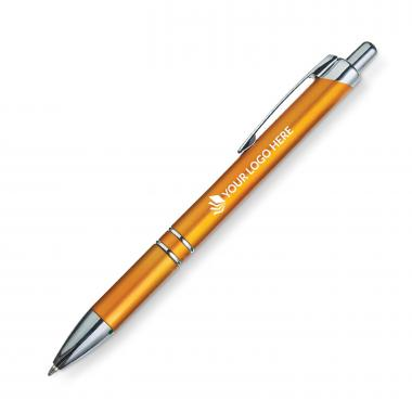 Velocity Click-action Plastic Pen - Gold