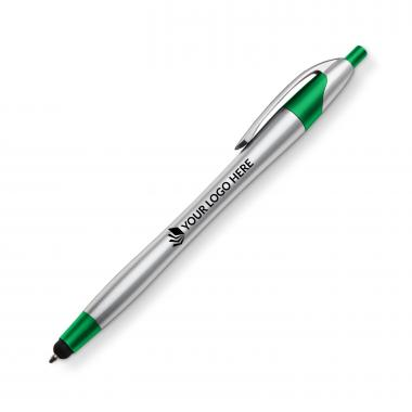 Dart Metallic Pen/Stylus - Green