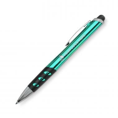 Zeus LED Plastic Pen - Green
