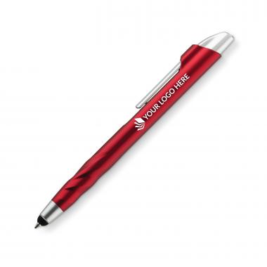 Lakeview Plastic Pen - Red